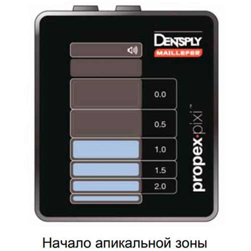 Особенности апекслокатора Dentsply ProPex Pixi