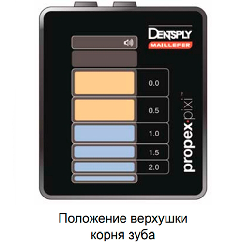 Комплектация апекслокатора Dentsply ProPex Pixi