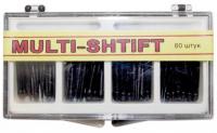 Штифты беззольные Рудент Multi-Shift (черные, 80 шт)