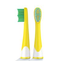 Насадки для электрической зубной щетки Lebond Heads Kids Silicone Yellow (2 шт)