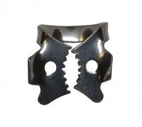 Кламмера для нижних левых (верхних правых моляров) моляров Dental Product Stainless (13А)