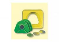 Система для изготовления моделей Bredent Мастер Кожа (средний, набор 7 частей, желтого цвета)
