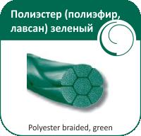 Полиэстер Olimp (полиэфир, лавсан) 5- 90 см (зеленый)