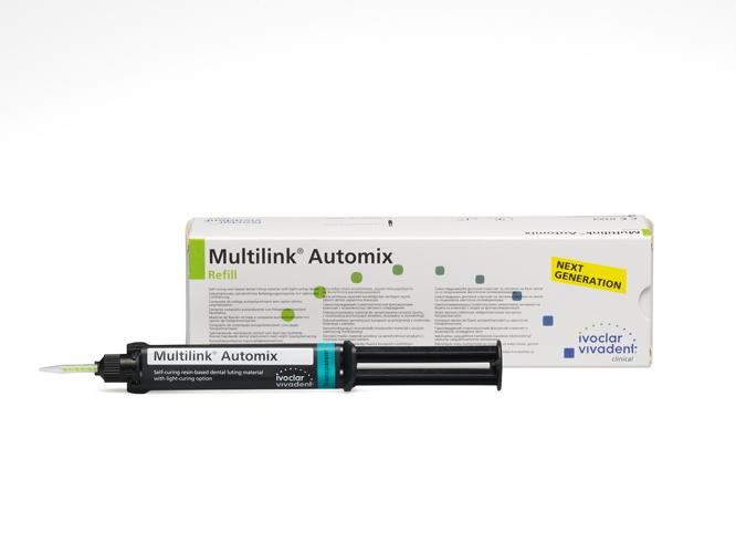 Композитный цемент Ivoclar Vivadent Multilink Automix (шприц, 9 г)