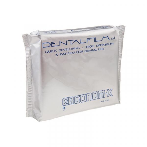Самопроявляющаяся дентальная пленка Dental Film Ergonom-X