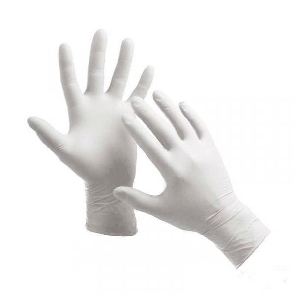 Перчатки смотровые латексные без пудры