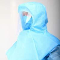Шлем с забралом 2-слойный (синий, ламинированный)