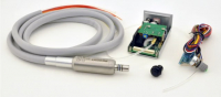 Встраиваемый щеточный микромотор MicroNX OP-100E (с подачей воды, и подсветкой для стоматологической установки)