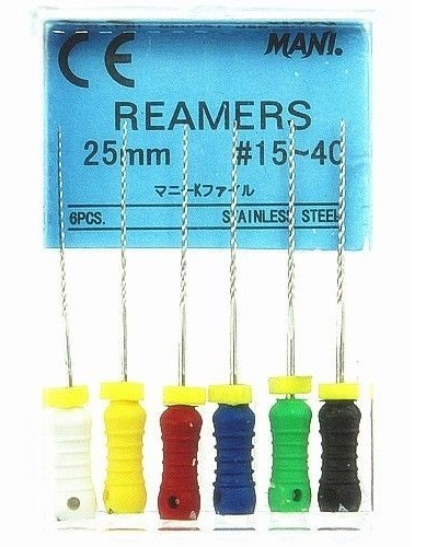 Дрильборы ручные Mani Reamers (25 мм) (оригинал)