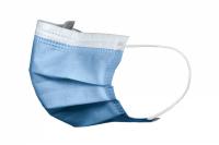 Маски медицинские Akzenta, синие (50 шт)
