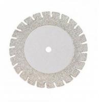 Алмазный диск Microdont 22/16 мм (двухсторонний, с пилой, мелкачя абразивность) ref.40.606.004