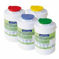 Универсальный контейнер для салфеток BODE Chemie Bode X-Wipes (голубой, зеленый, красный)