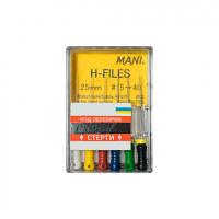 Файлы ручные Mani H-File (25 мм, 6 шт) (оригинал)