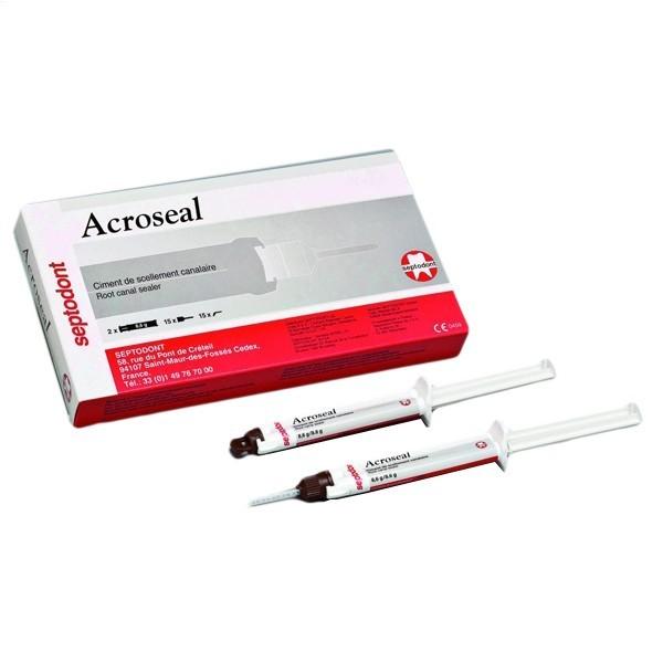 Пломбирование корневых каналов Septodont Acroseal