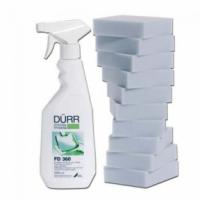 Жидкость для очистки поверхностей из кожи DURR FD 360 (0,5л+10 губок)