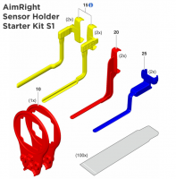 Позиционеры к визиографу Sirona XIOS XG AimRight Sensor Holder Starter Kit S1