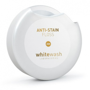 Зубная нить-флосс WHITE WASH Nano против пятен Anti-Stain Floss Tape (NF-01) 25 м