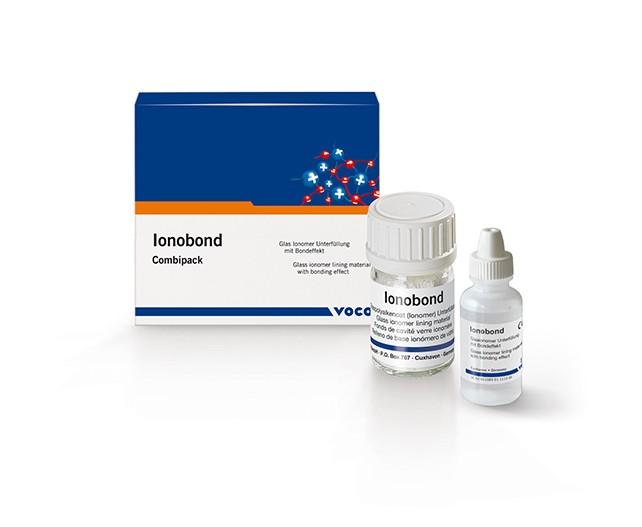 Рентгеноконтрастный стеклоиономерный цемент Voco Ionobond (10 гр + 15 мл)