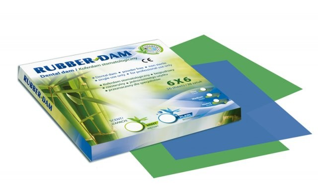 Платки для раббердама Cercamed Rubber-Dam