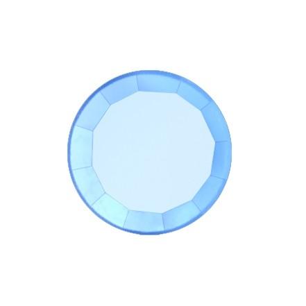 Скайс (страза) на зубы Голубой сапфир Сфера ( DJ 12 )