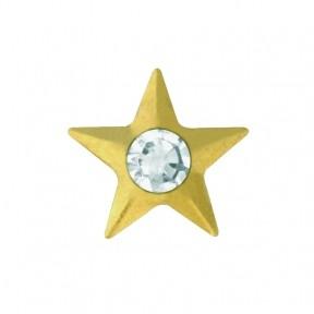 Скайс (страза) на зубы Звезда с бриллиантом ( TW 22 )