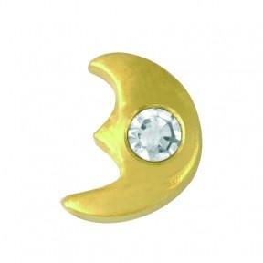 Скайс (страза) на зубы Луна с бриллиантом ( TW 25 )