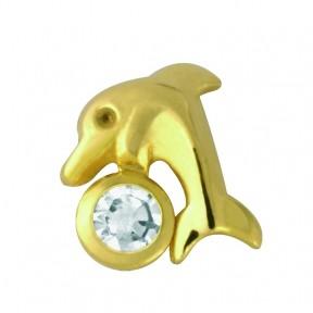 Дельфин с бриллиантом ( TW 30 )