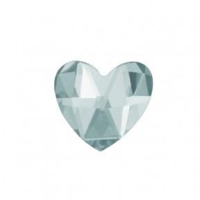 Скайс (страза) на зубы Сердце белое фианит ( DJ 70 )