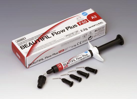 Композит Shofu BEAUTIFIL Flow Plus  (нулевая текучесть)