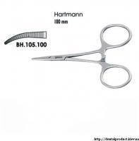 Зажим Hartmann изогнутый BH.105.100 (211.100)