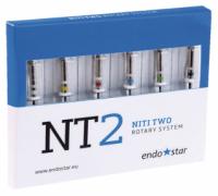Никель-титановые файлы Poldent Endostar NT2 NiTi Two Rotary System (25 мм)