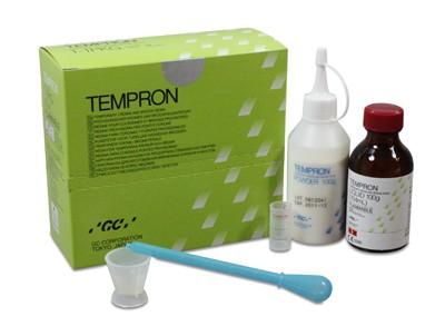 Акриловая пластмасса GC Tempron (100 г + 104 мл)