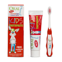 Детский набор Oral Seven KIDS Toothpaste 65g/50ml + Soft toothbrush (5060224500118)