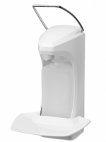 Диспенсер RX 5 M с лотком для капель и замком (белый)