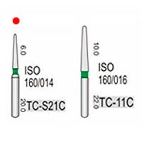 TC-S21C (Vortex) алмазный турбинный бор (160/016)