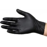 Перчатки нитриловые черные 100 шт