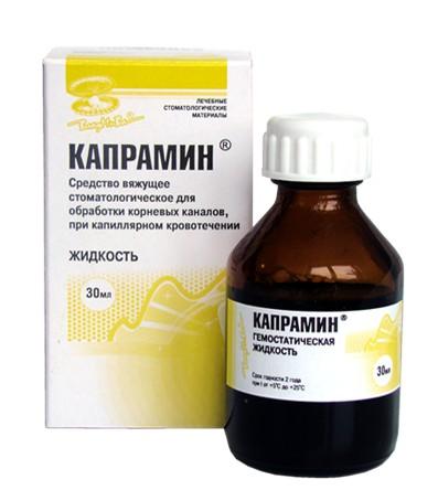 Гемостатическое средство Владмива Капрамин (жидкость, 30 мл)