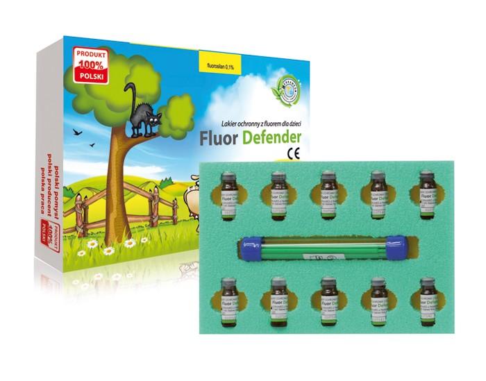 Защитный лак с фтором для детей Cercamed Fluor Defender