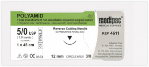 Шовный материал Medipac Polyamid