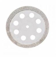 Алмазный диск Microdont 22/18.4 мм (двухсторонний, с перфорацией, средняя абразивность) ref.40.606.003