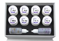 Двухцветный тестовый набор для облицовки металла Baot TRIAL KIT ‐ METAL CERAMICS