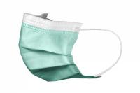 Маски медицинские Akzenta зеленые (50 шт)