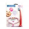 Стимулятор для прорезывания зубов + щетка Curaprox Curababy розовый