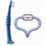 Стимулятор для прорезывания зубов + щетка Curaprox Curababy голубой