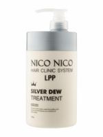 Маска для волос с серебром NICO NICO Silver Dew Treatment (1000 ml) (8809292134761)