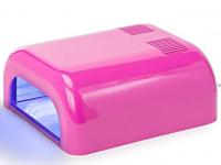 Лампа ультрафиолетовая для маникюра OEM L-12, розовая