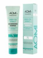 Эссенция для поврежденных волос AOMI Green Tea Extract Nourishing Essence (150 ml) (8809353537056)