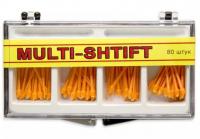 Штифты беззольные Рудент Multi-Shift (оранжевые, 80 шт)