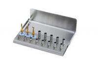 Сверла имплантологический d - 2-2,5-3,3 мм, комплект SDKIT с стопперами 2-14 мм (14 шт)