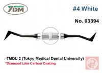 Гладилка YDM TMDU2 № 4 (для композитов, белая ручка)
